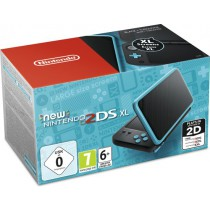 Nintendo 2DS XL Console omgebouwd - Zwart/Turquoise