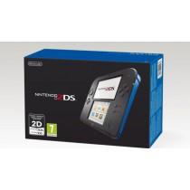 2DS XL blauw omgebouwd Custom Firmware