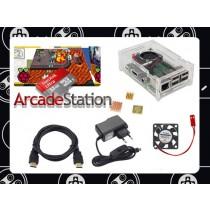 Raspberry Pi 4 ArcadeStation 2021 model + 128 gigabyte