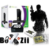 Xbox 360 omgebouwd pakket 4 gig +  Boxzii