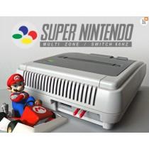 Super Nintendo (SNES) Omgebouwd